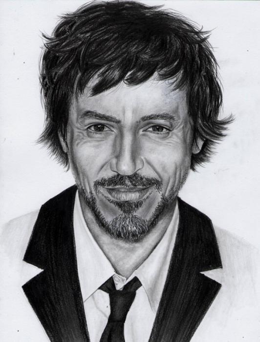 Robert Downey Jr by Hillcza